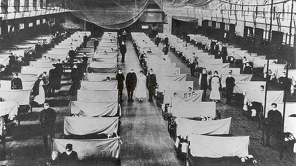 the spanish flu The spanish flu pandemic of 1918, the deadliest in history, infected an estimated 500 million people worldwide—about one-third of the planet's population—and killed an estimated 20 million to 50 million victims, including some 675,000 americans.